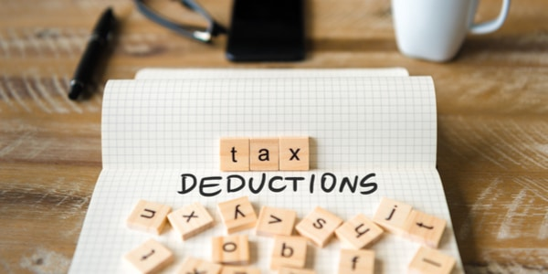Tax deductions text